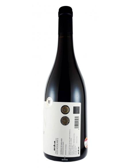 Cortijo Los Aguilares Tinto Pinot Noir contra etiqueta