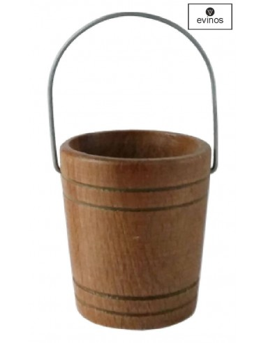 Cubito anti-goteo de barril de 16 a 32 Color Caoba