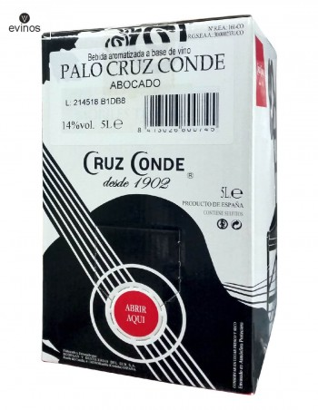 Palo Cortado Cruz Conde Bag in Box 5L