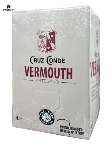Vermouth Cruz Conde Bag in box de 5L