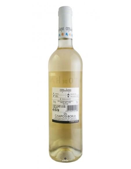 Coto de Hayas Blanco Chardonnay contra-etiqueta
