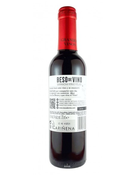 Besos de Vino Just Married 375 ml. contra-etiqueta