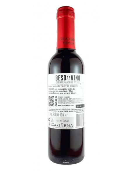 Besos de Vino Just Married 375 ml. contra-etiqueta