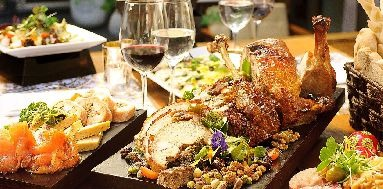 La armonía entre vinos y comidas